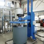 GemiClean Vessel Washer During Operation