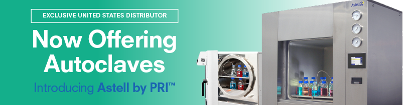 PRI Now Sales & Service Distributor for Full Astell Autoclave Line